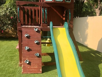 Selling: Swing set and treehouse