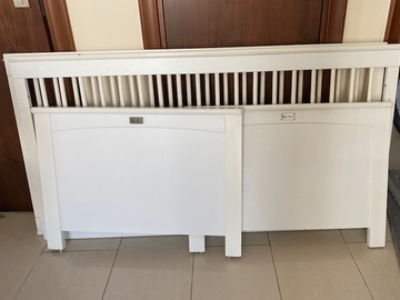 Selling: Silver Cross Cot/Bed with mattress