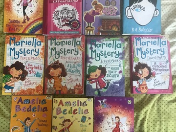Selling: Great books for 8-10 year olds!