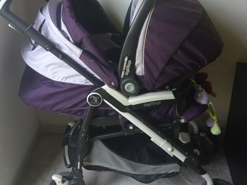 Selling: Peg perego stroller and carseat