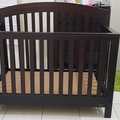 Selling: Solid wood baby crib