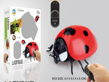 Selling: Remote Control Infrared Lady Bug Toy