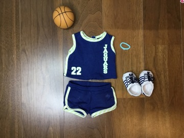 Selling: Basket ball outfit for agd doll