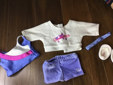Selling: AGD gymnastics outfit