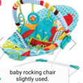 Selling: Baby rocking chair