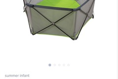 Selling: Summer pop n play play pen on the go