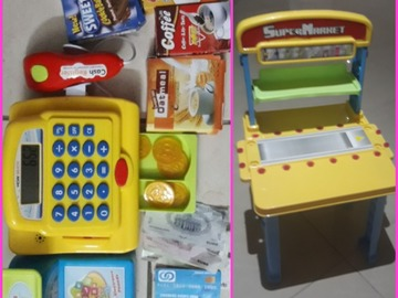 Selling: Supermarket toy