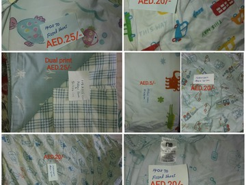 Selling: Bedsheets/fitted sheets/pillow cover