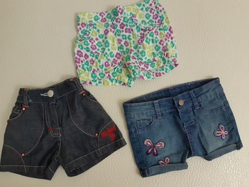 Selling: Baby girl shorts