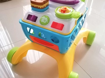 Selling: Bright Stars Giggling Gourmet Shop & Cook Trolley Walker