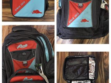 Selling: School bag with tiffin