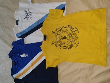 Selling: 3 POLO Tshirts for Boys Size 3
