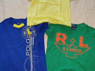 Selling: 3 POLO T-shirts Size 2