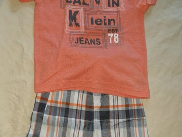 Selling: Calvin Klein Outfit for Boys Size 3