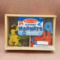 Selling: Magnetic Wooden Alphabet Letters (brand new)