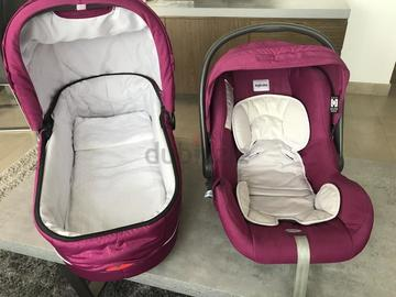 Selling: Inglesina Stroller Set (Stroller, Car Seat, Basinet)