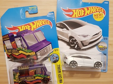 Selling: 2 new Hot Wheels toys