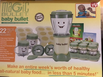 Selling: 22 piece Magic Baby Bullet