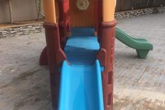 Selling: Elc outdoor slide and play house