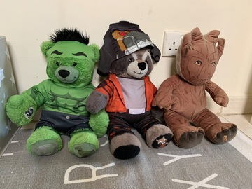 Selling: Build a bear toys